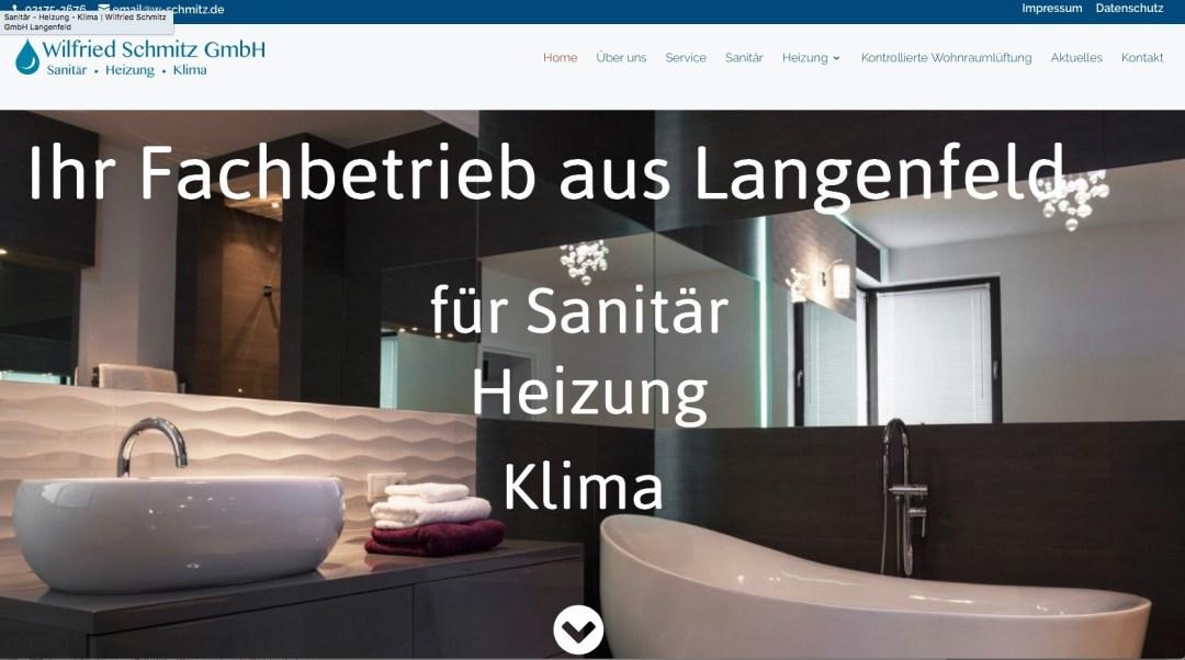 Sanitär Hilden wilfried schmitz gmbh heizung sanitär klima professionelle