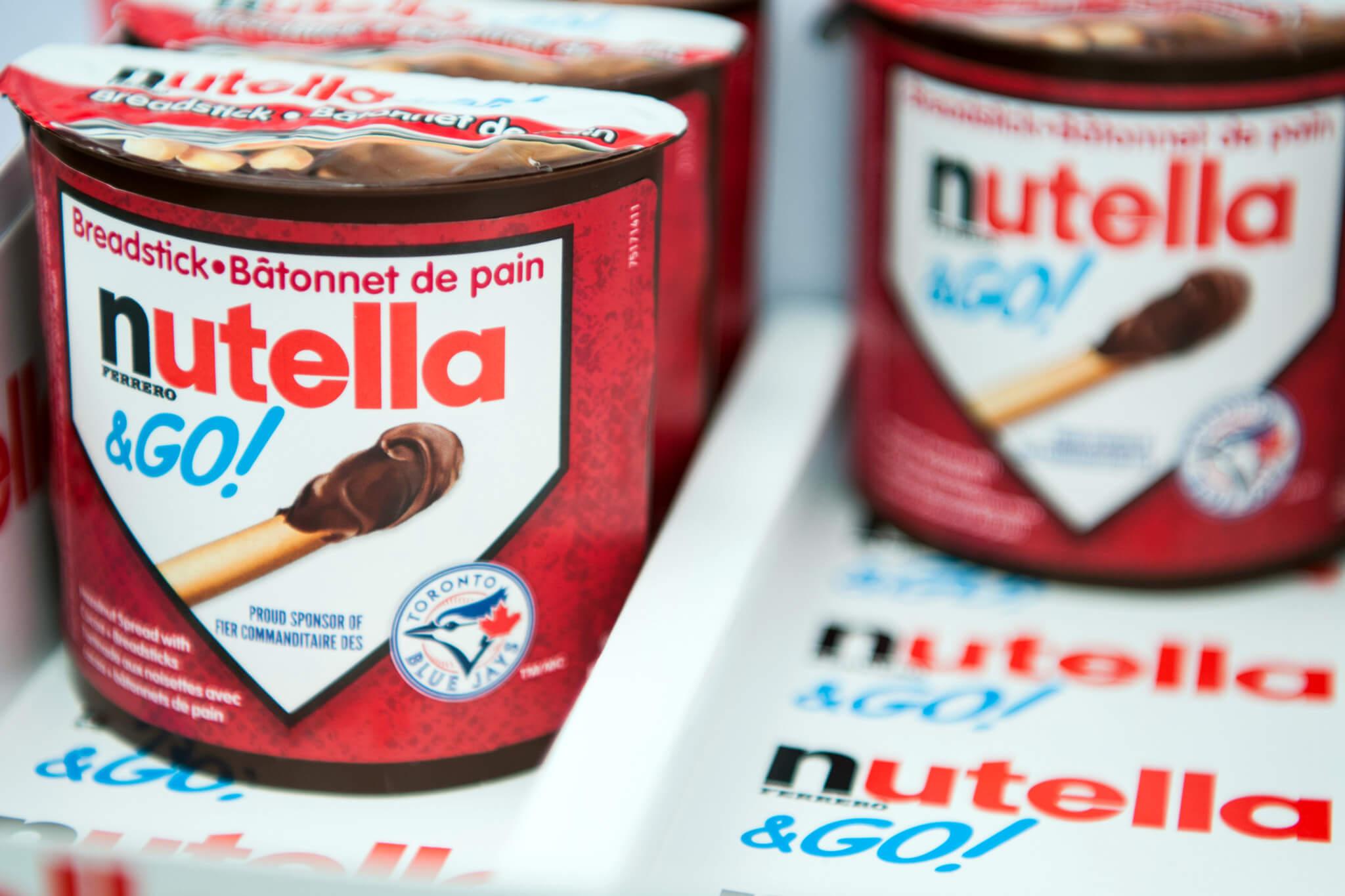 Authentic Italian Table Vancouver Nutella