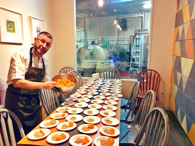 EVOO Masterclass Chef Pino