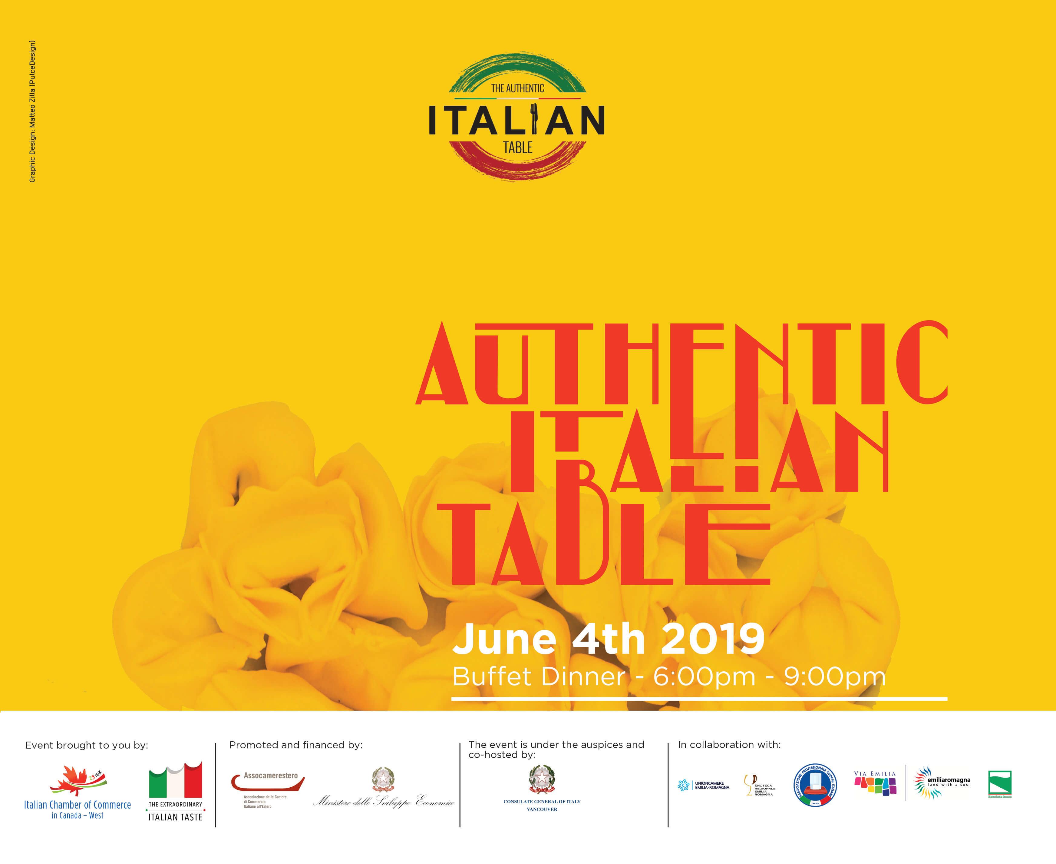 Authentic Italian Table Emilia Romagna Awards 2019