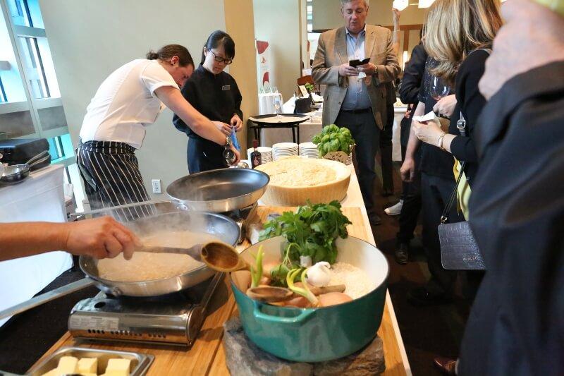 Authentic Italian Table Emila Romagna Dinner Parmigiano