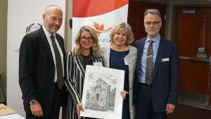 Italian Consulate General In Vancouver Emilia Romagna Delegates