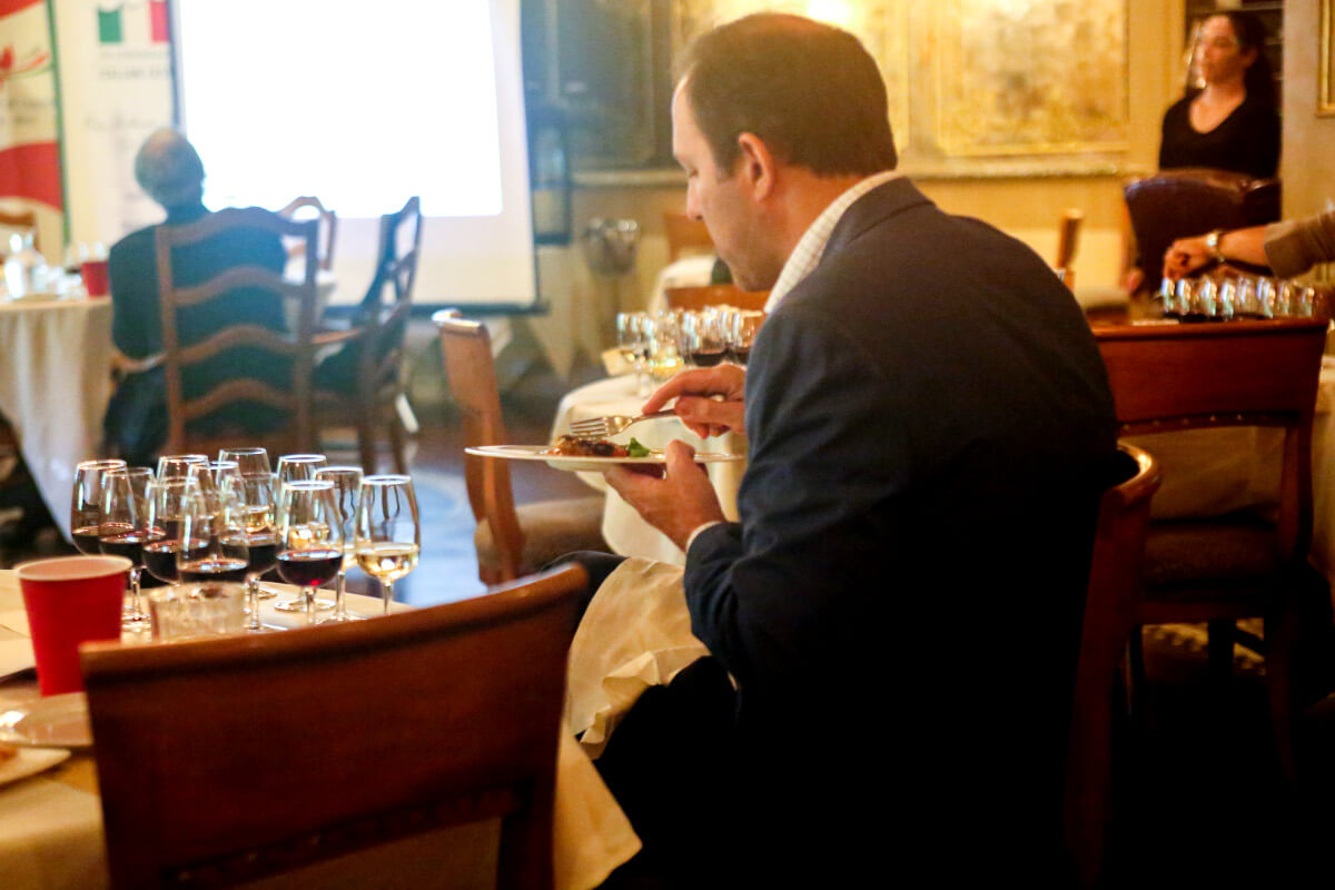 Wines Of Italy Masterclass Wine Pairing