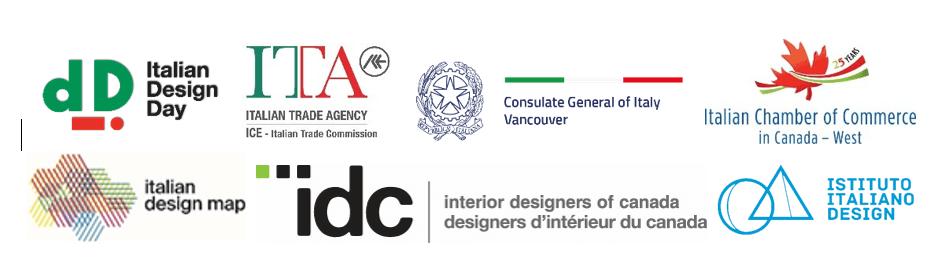 Loghi Partners Italian Design Days Vancouver