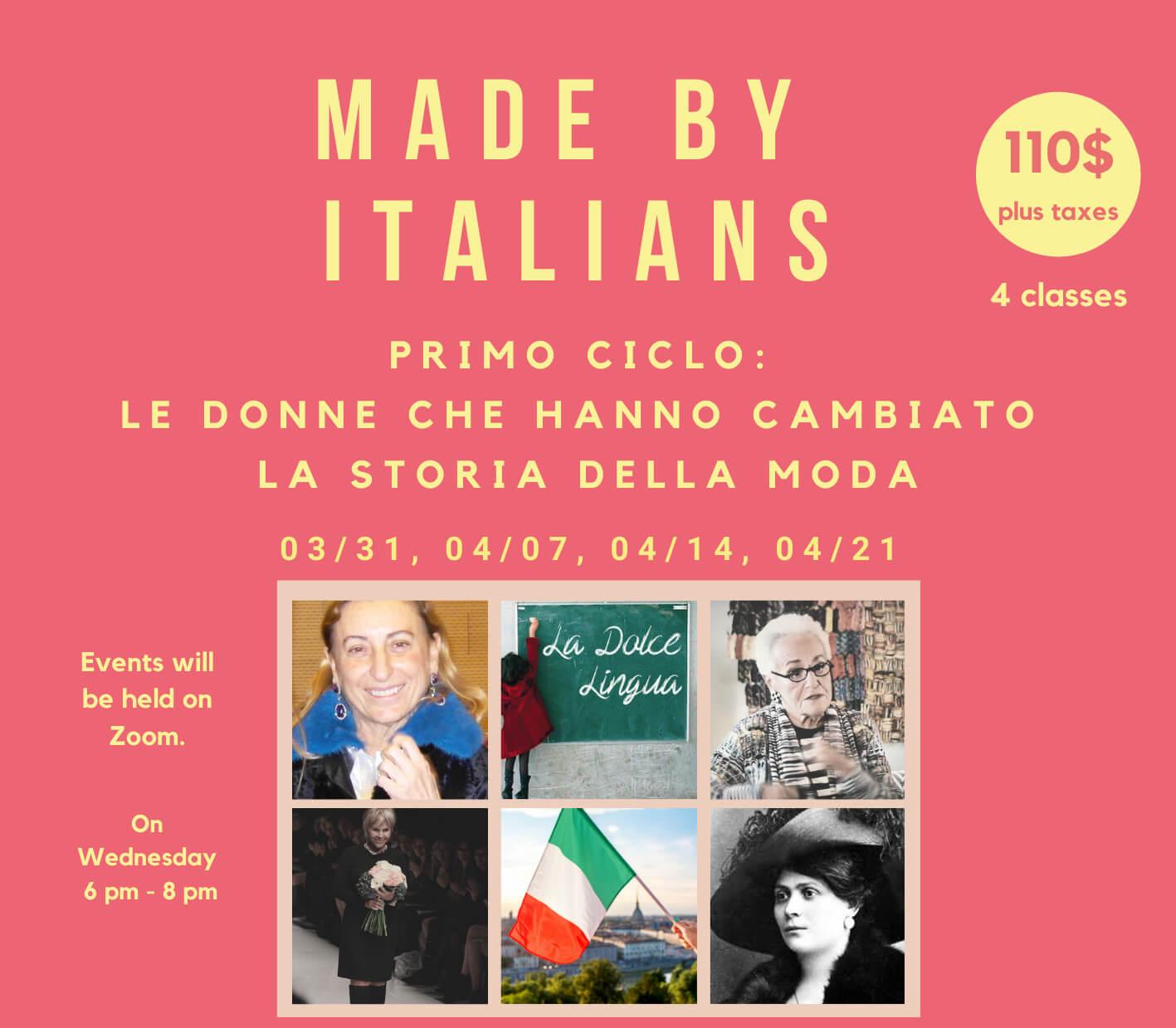 MAde By Italians Learn Italian