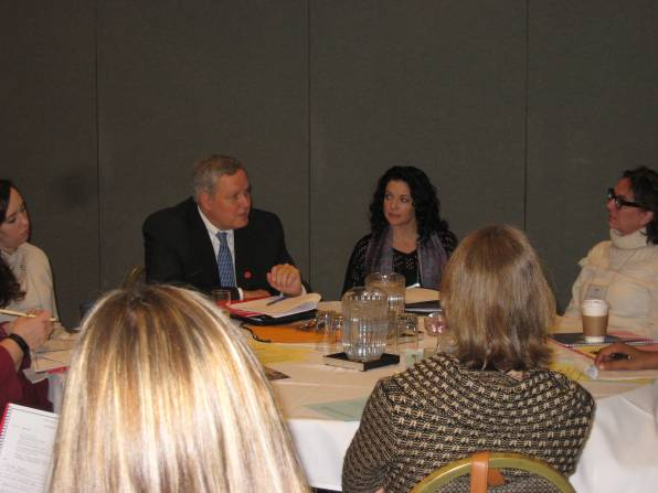 Paul Cobia Leads Marketing roundtable