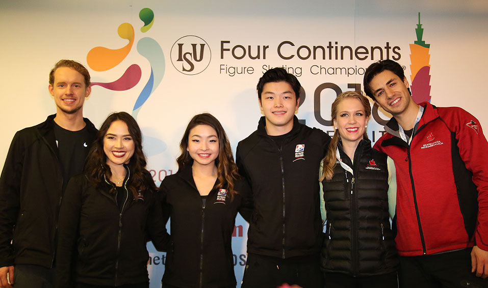 North American sweep at Four Continents