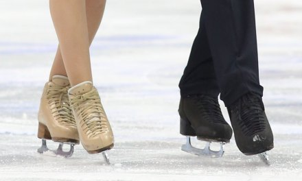 Pros Bring Ballroom Flavor to the Ice for Detroit Dancers