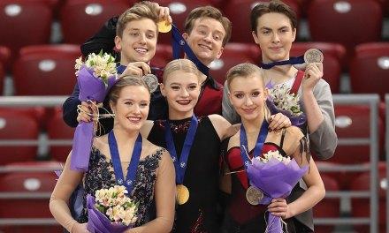 Junior Worlds Recap: Skoptcova, Aleshin win Gold