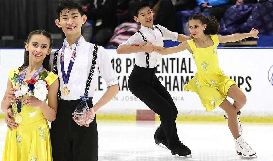 Wolfkostin & Zhao enjoy challenge of junior level