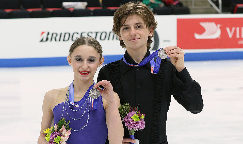 Siblings in Skating: Oona Brown & Gage Brown