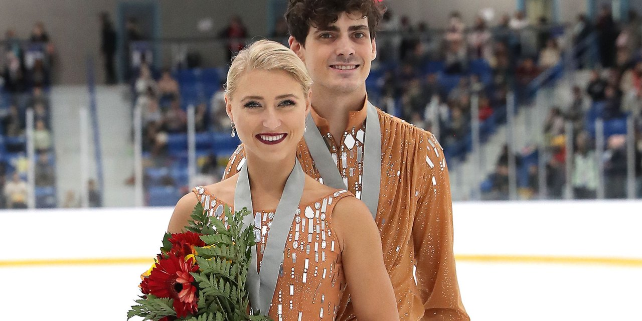 Gilles and Poirier Kick Off Grand Prix Season at Skate Canada