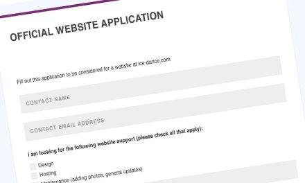Team website development available!