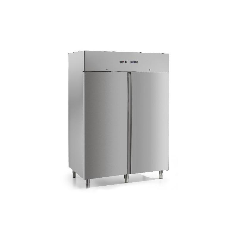 armoire frigo negative afinox 2p 1400l inox