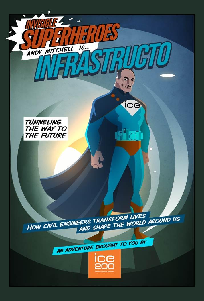 Invisible Superheroes Exhibition Institution Of Civil