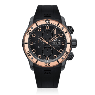 edox gold co1 carbon automatic chronograph
