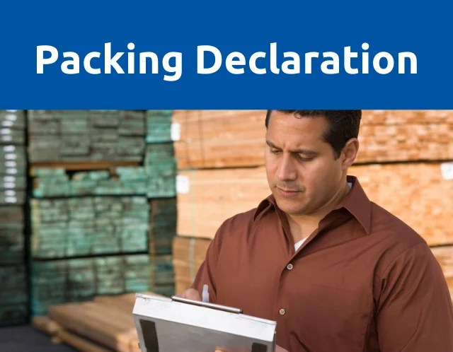 packing declaration blog