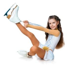 girl tying boots getting ready shutterstock_82205245