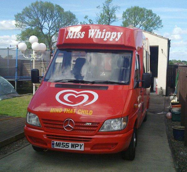 Miss Whippy Ice Cream Van