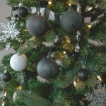 How To Make Diy Black Glitter Christmas Ornaments