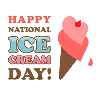 Happy National Ice Cream Day!!!!