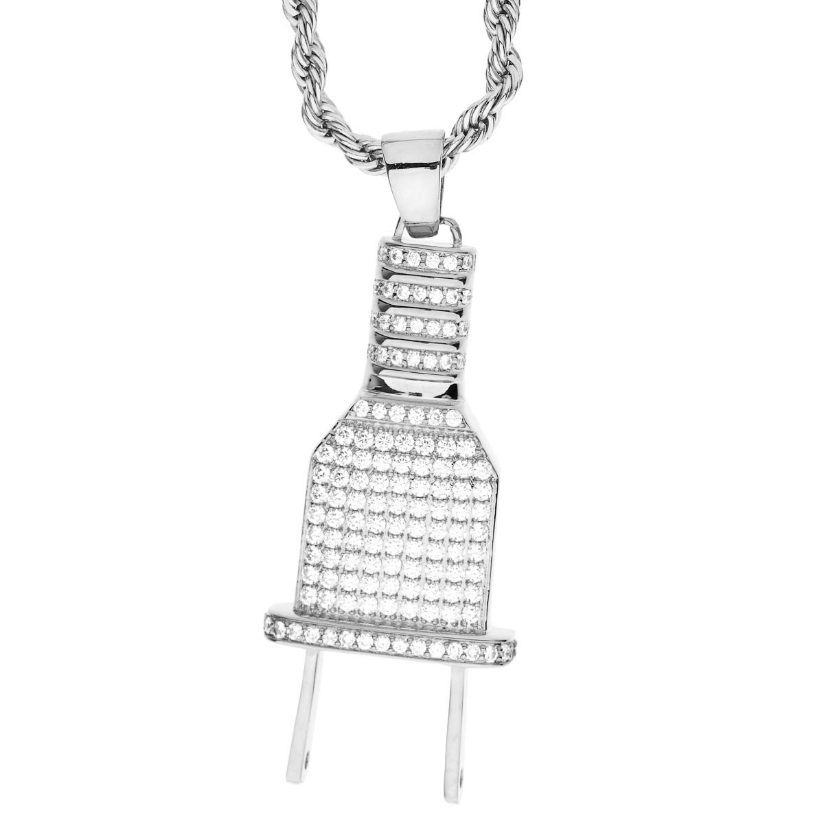 Iced Out Bling Micro Pave Chain