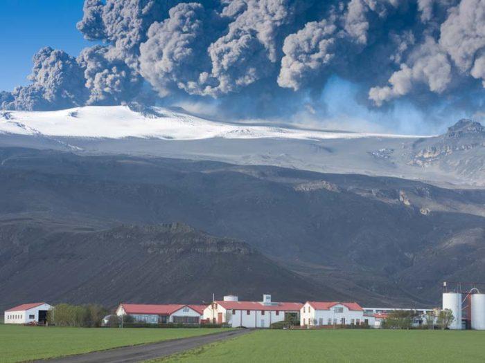 eyjafjallajokull eruption south iceland