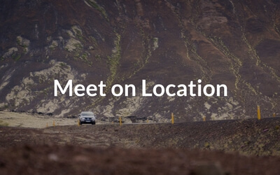 meet on location tours iceland