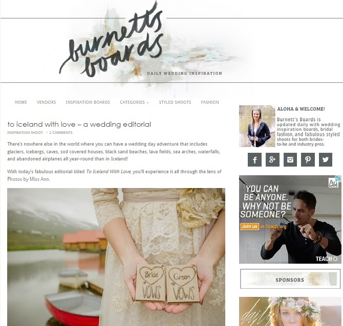 iceland-wedding-planner-featured-on-burnetts-boards