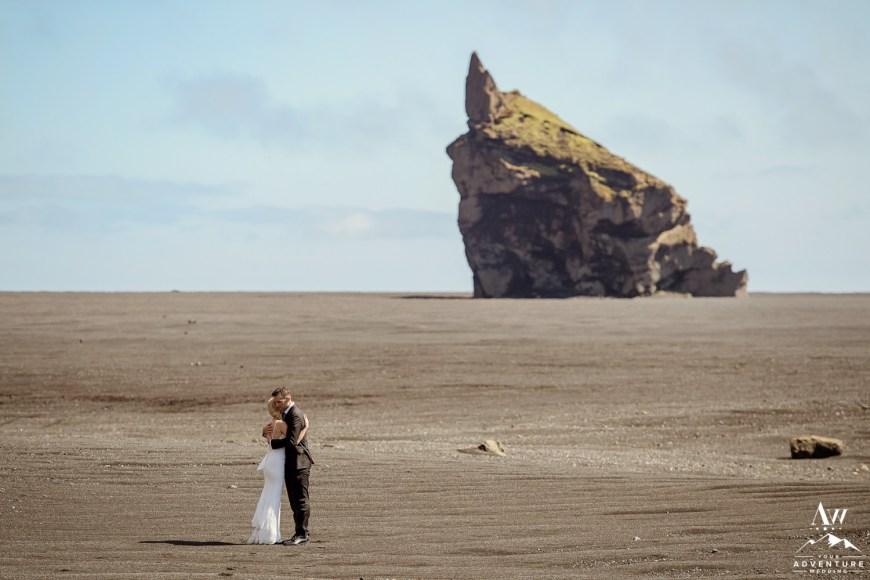 Iceland Black Beach Desert Wedding Locations