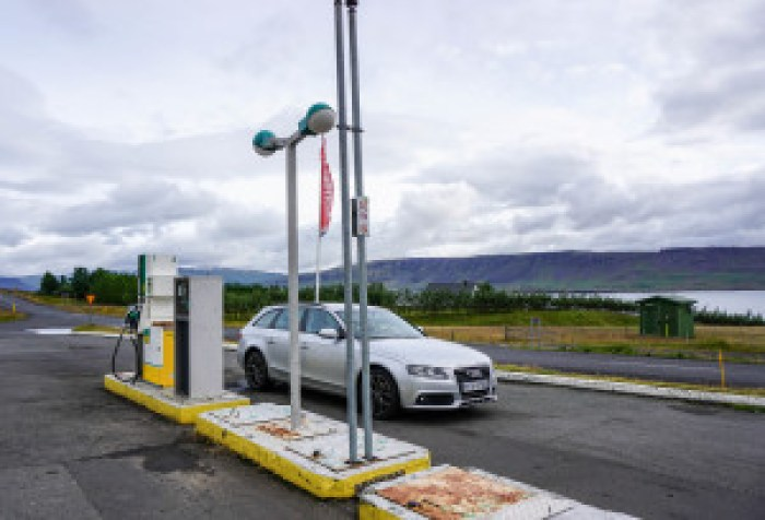 Gas stations are few and far between in Iceland, fill up where ever you can! // Everything you need to know about renting a car in Iceland | Life With a View