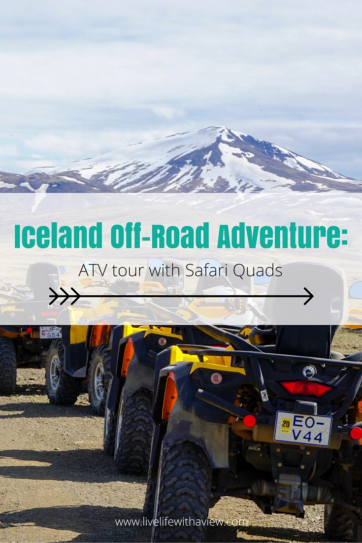 Looking for an off-road Adventure in Iceland- I know the perfect tour for you! Check out my experience on a 3 hour ATV ride with Safari Quads - including video footage! - Life With a View