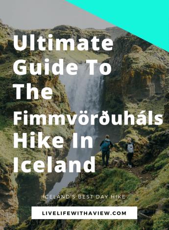 Fimmvordurhals hike Thorsmork Iceland