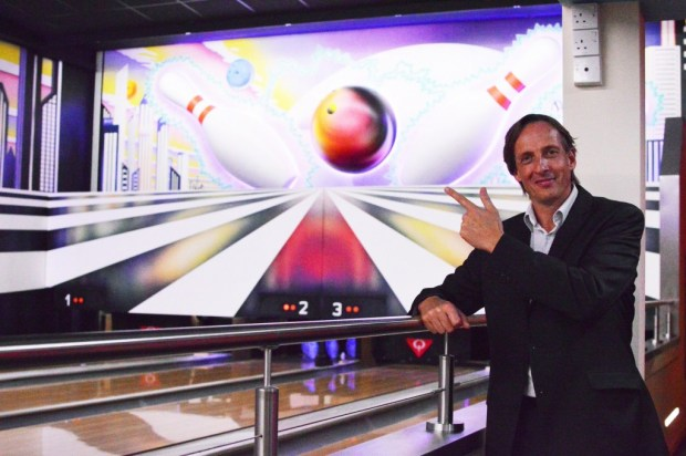 John Potter at the new GameZone, transformation, potters resort, new, reception