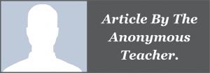 Anonymous teacher