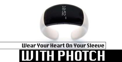 Photch, Bluetooth, tech, gadget, Watch, Bracelet