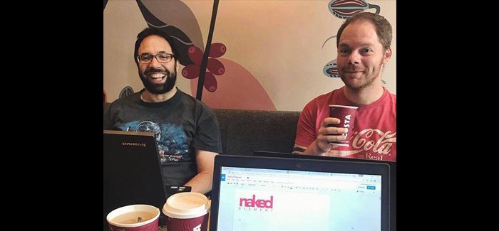 What's it like working with a team of software developers?