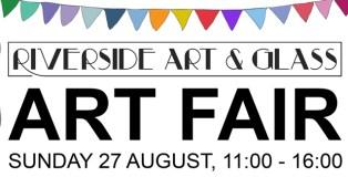 Riverside Art & Glass, august, art fair, riverside, art, glass, wrexham