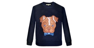 Introducing Brian's Navy Bulldog Sweatshirt