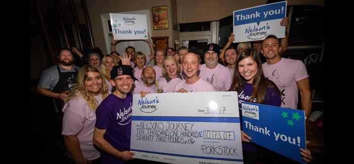 Porkstock Raises More Than £10,000 For Nelson's Journey