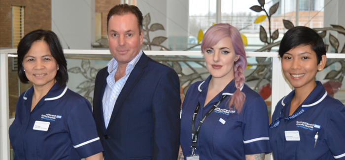 First three nurses appointed to new role as Surgical Care Practitioners