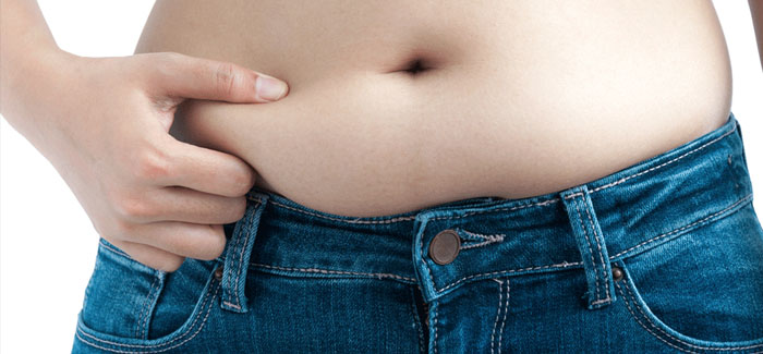 Feeling anxious? Your waistline could be to blame