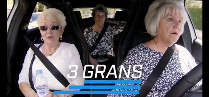 Watch the hilarious footage of three grans on a wild road trip across Europe