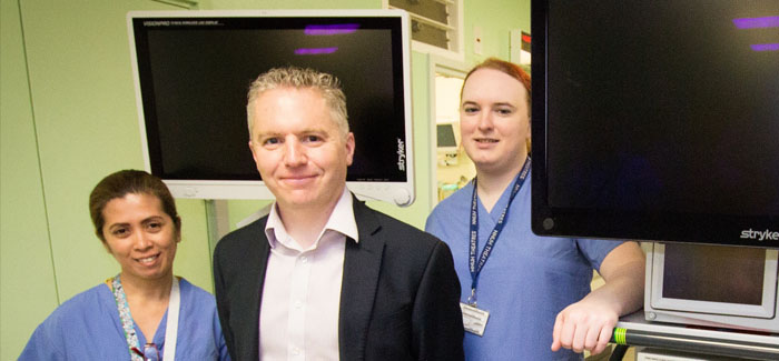 Team leads the way in endometrial cancer treatment