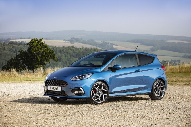 New Fiesta ST front