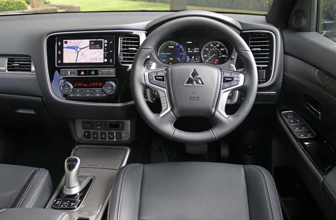 Mitsubishi Outlander PHEV cabin
