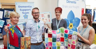 Providing extra support for people living with dementia and their families