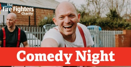 Fire Fighters Charity Comedy Night