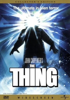 the thing movie poster 1982 poster