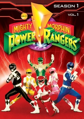 mighty morphin power rangers movie poster 1993 poster